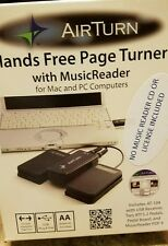 Airturn hands free page turner PC/Mac computer USB