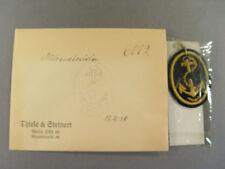 T&S Handelsmarine: Mützenabzeichen, unklarer Anker mit Umrandung, 59522