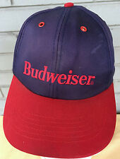 Budweiser Beer Dirty Old Snapback Baseball Hat Cap Well Worn