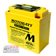 Cagiva Elefant 900 Motobatt *AGM* High Power Upgrade Battery YB16BA1