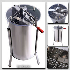 Large Honey Extractor 2 Two Frame Stainless Steel Beekeeping Equipment Tank Drum