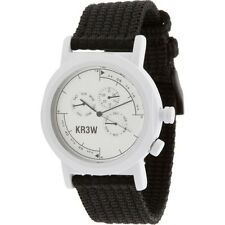 KR3W Navigator Watch (white / black) K1340WHITE-1S