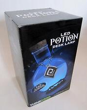 LED Potion bottle Desk Lamp light brand new sealed Box color changing thinkgeek