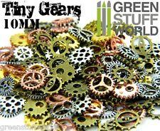 Steampunk Set 85 gr. Ruedas Dentadas y Engranajes Metalicas 10mm (150 piezas).