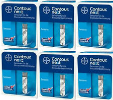 Bayer Contour Next  300 Blood Glucose Test Strips Free Cooler + Meter Exp:5/2018