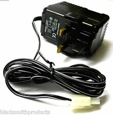 152100002 7.2v Large Tamiya Battery charger 6-8 cell RC Cars Buggys Truck UK