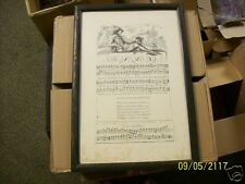 George Bickham Jr., Reproduction Sheet Music The Fly For The Flute