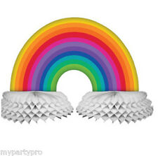 Pride Rainbow LGBT Multi color Centerpiece Party supplies and Decorations