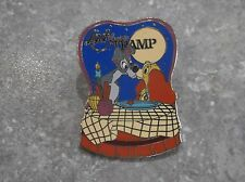 DISNEY DLRP LADY AND THE TRAMP PIN SPAGHETTI SCENE