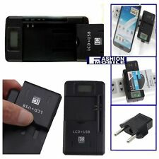 Battery Charger LCD Samsung Galaxy S5 mini SM-G800F Universal USB