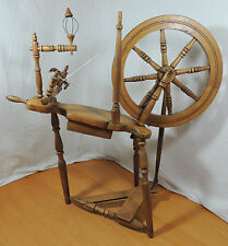 "EA Griffis Vintage Small DECORATIVE Wooden Spinning Wheel 14 1/2"" 37cm Alhambra"