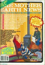 1984 Mother Earth News Magazine #85: Woodstove Water Heater/Storm Windows/Stone