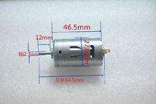Large Torque High-power Motor 390 DC Motor 6V-12V Power Tools Mini Drill Motor