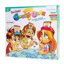 """Hedbanz Game Kids Family """"What am I?"""" NEW Charades Parlor Guessing Party Desktoy"""