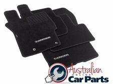 MITSUBISHI CJ LANCER MANUAL Floor Mats CARPET Brand New Genuine 2007-2016 BLACK