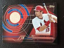 2014 Topps Trajectory Relics #TR-MCA Matt Carpenter St. Louis Cardinals Baseball
