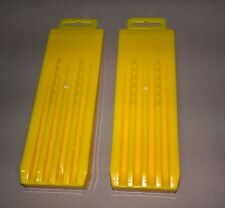 """2 x """"ABS"""" HARDENED Chainsaw Wedges -  8""""  Plastic Tree Felling / Falling Wedge"""