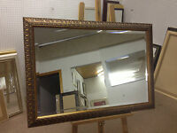 NEW ORNATE GOLD WALL AND OVERMANTLE MIRRORS - VARIOUS SIZES AVAILABLE