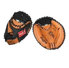 "Rawlings Player Preferred baseball catchers glove leather 32.5"" LHT mitt RCM325"