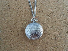 DR DOCTOR WHO CIONDOLO NECKLACE 4CM DOTTOR TARDIS RASSILON GALLIFREYAN PHONE BOX