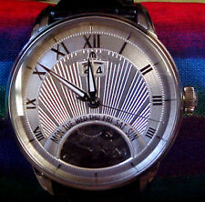 MAURICE LACROIX MASTERPIECE STAINLESS STEEL JOURS RETROGRADE WRIST WATCH MP6358