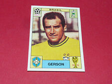 37 GERSON 1970 MEXICO 70 BRESIL FOOTBALL PANINI WORLD CUP STORY 1990 SONRIC'S