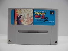 SNES -- DRAGON BALL Z 2 -- Fighting Action.Super famicom.Japan Game.work fully!!