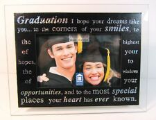 Graduation Glass Photo Frame 4 x 6 Gift FREE SHIPPING!