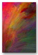 Metal Wall Art 23.5h x 16w Contemporary Abstract 'Fanfare' by Paul McGuire