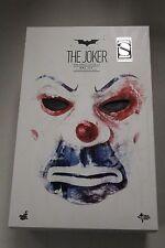 "Hot Toys Dark Knight TDK Joker bank robber 2.0 exclusive 12"" 1/6 Figure MMS 249"