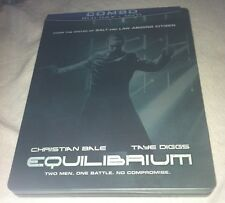Equilibrium Blu-ray/DVD Steelbook Christian Bale 2003/2011 Future Shop Exclusive