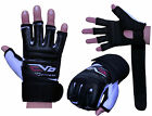 EVO Leather body combat GEL Gloves MMA Boxing Punch Bag Martial Arts Karate Mitt