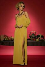 NWOT Free People Yellow Saunder New York Womens Boleyn Gown $475