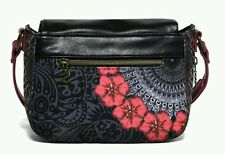 DESIGUAL* BOLSO BREDA RED GARDEN - BAG -SAC - NEW