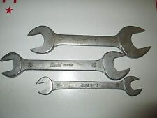 Vintage Hazet Chrom-Vanadium Wrench Lot of 3 , Germany