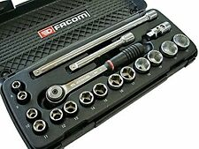 "FACOM J.4APB 3/8"" Dr. 6 Point SOCKET SET 8 - 22mm"