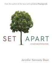 Set Apart: A 6-Week Study of the Beatitudes, Dean, Jennifer, Good Book