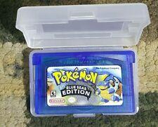 Pokemon blue seas blue sea game boy advance gba sp ds tested saves