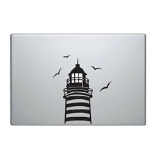 "Macbook Aufkleber Sticker Decal skin Air Pro 11"" 13"" 15"" 17""  Leuchtturm vinyl"