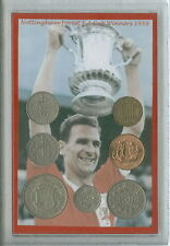 Nottingham Forest Vintage Jack Burkitt F.A Cup Final Winners Coin Gift Set 1959