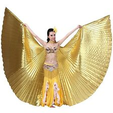 Dance Fairy Exotic Belly Dance Colorful Belly Dance Big Isis Wings Costume Pr...