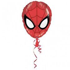 Ultimate SPIDER MAN Testa A Forma Di Stagnola Elio Palloncino Festa Decorazione Spiderman
