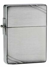 "Zippo ""1935 Replica"" Brushed Chrome Finish Lighter, ***Flints & Wick***  1935"