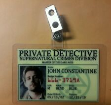 Arrow/Constantine ID Badge - John Constantine Detective cosplay prop costume