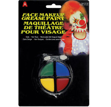 Clown Makeup Wheel Primary Colors Rainbow Grease Paint Creme Theater Costume