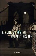 Malachy McCourt~A MONK SWIMMING~SIGNED 1ST(1)/DJ~NICE COPY