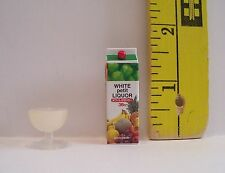 MINIATURE RE-MENT CARTON LIQUOR & COCKTAIL FOR DOLLS 1/6 SCALE ACCESSORY RETIRED