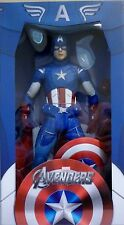 """CAPTAIN AMERICA The Avengers Limited Edition 18"""" inch 1/4 Scale Figure Neca 2013"""