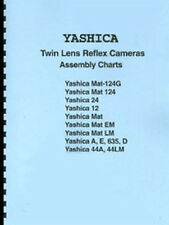Yashica Mat-124G & most TLR Repair / Assembly Charts