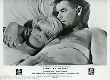 ELKE SOMMER GLENN FORD  THE MONEY TRAP 1965 VINTAGE PHOTO LOBBY CARD N°1